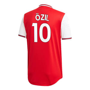 Thailand Quality M Ozil Red 2019/20 Home Authentic Player Soccer Jersey Set
