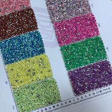 Chuck glitter making PU leather material shoes upper usage