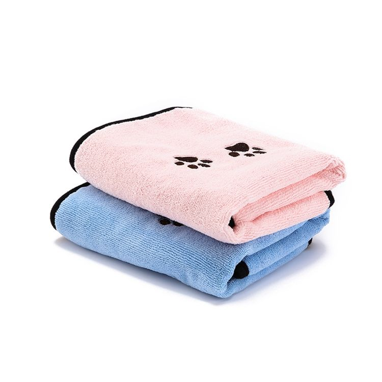 Cheng Yi Manufacturers custom microfiber pet towel absorbent clean towel dog cat bath quilt quick-drying towel