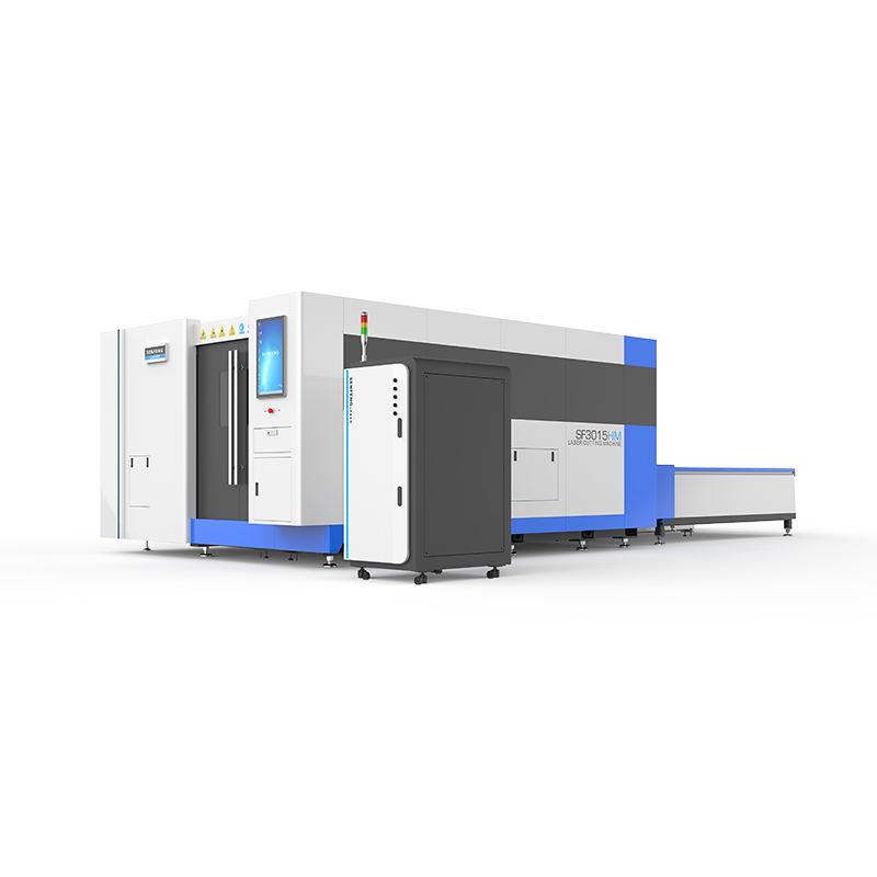 SENFENG Suitable for industrial Metal plate and pipe fiber laser cutting machine with Raycus 3300 watt SF 3015HM