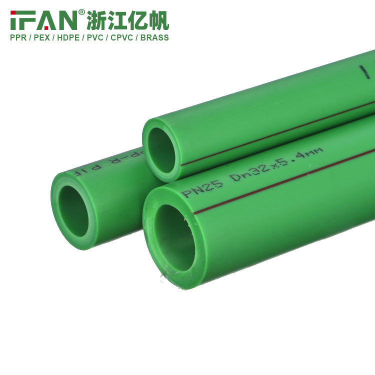 IFAN PN20 PN25 20mm-110mm PPR Pipe DN50 ppr pipes list tube plastic