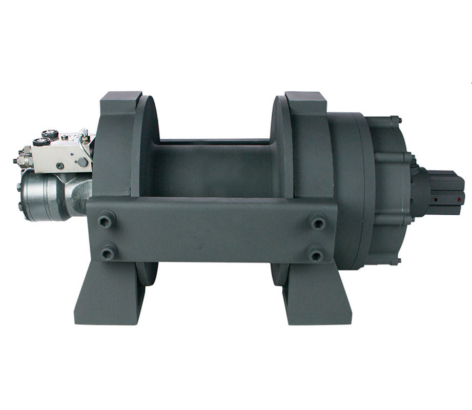 2T-40T hydraulic Vehicle recovery winch hydraulic with for sale