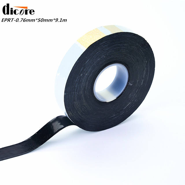 0.76Mm X 50Mm X 9.1M Ethyleenpropyleenrubber Isolatie <span class=keywords><strong>Tape</strong></span>