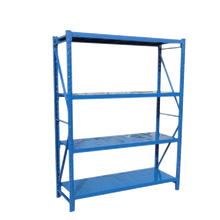 1500*500*2000mm 300 kg load Heavy duty Boltless 4 layer Shelf Metal Warehouse Industrial Racking Garage Storage rack