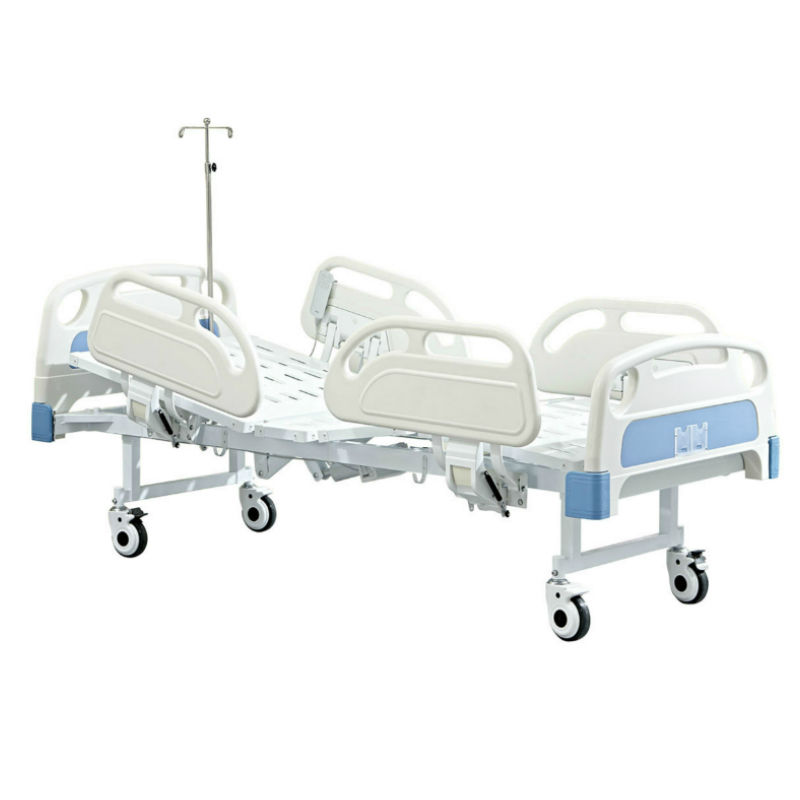 Hospital bed electric panel two functions electric patient bed