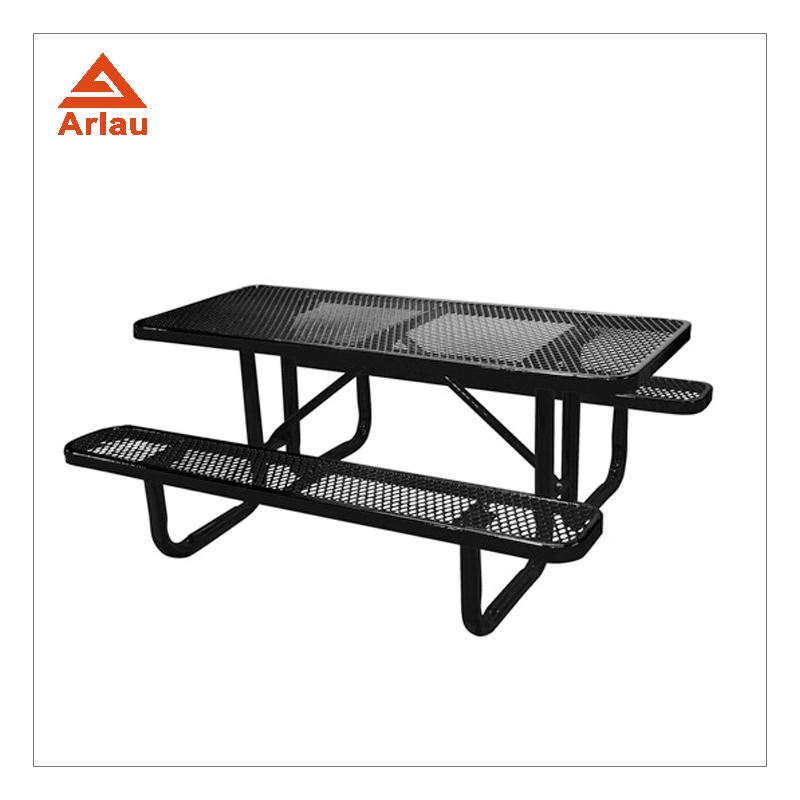 Arlau outdoor garden furniture beer long bench picnic dining table and chair set