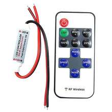 12V RF Wireless Remote Switch Controller Dimmer 10-level Dimmer For LED Strip Light