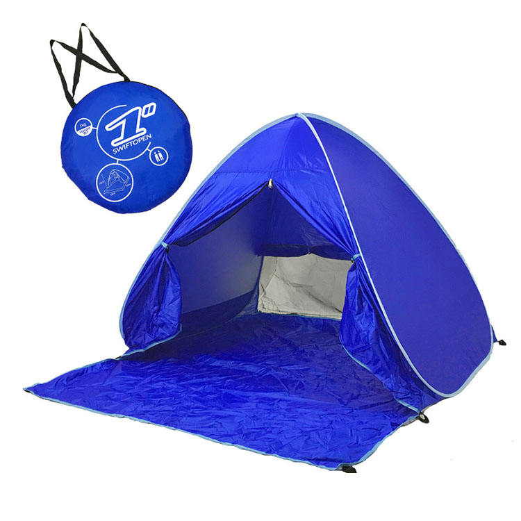 Automatic 2 Person 3 Season Waterproof Camping Portable Pop up Tent Beach Tent For Sale