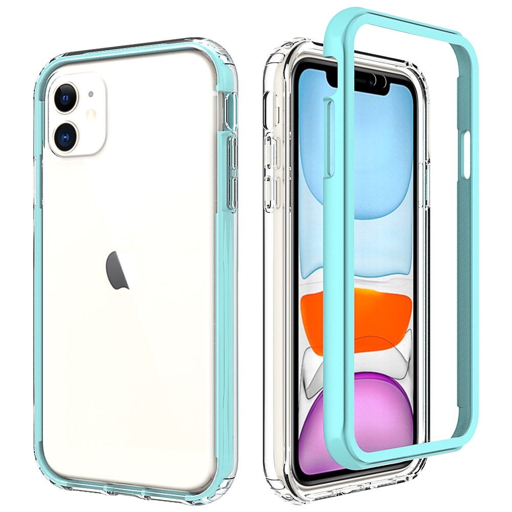 "For iPhone 12 Series New Coming Cellphone Case Clear PC TPU Transparent Case Cover For iPhone 12 5.4 ""6.1"" 6.7"""
