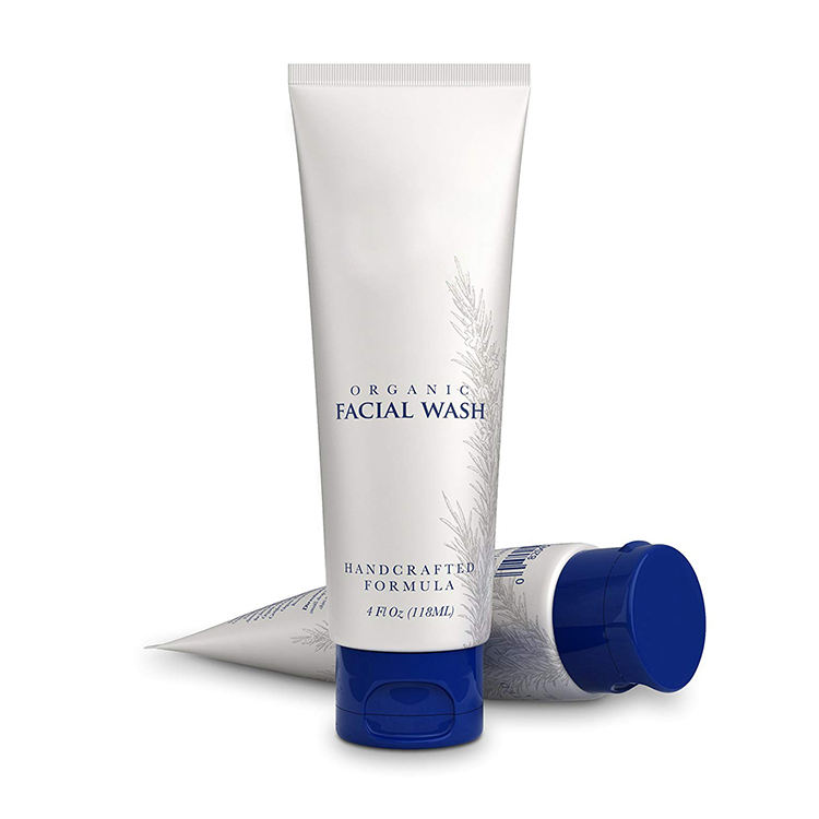 Private Label Organic Face Wash Foam Facial Cleanser
