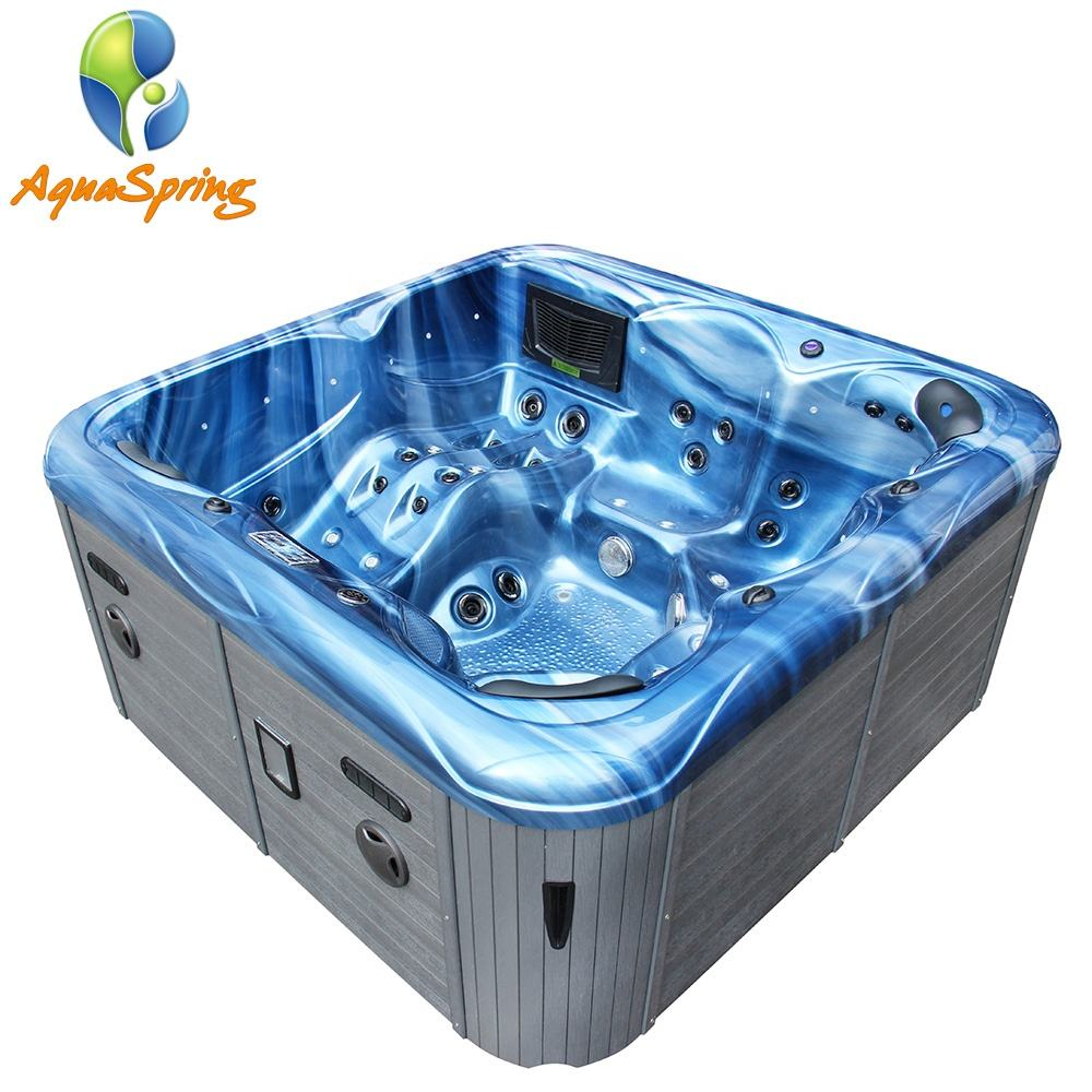 Top quality newest design joy 6 person hot tub spa