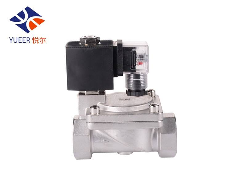 diesel fuel high frequency stainless steel high pressure Temperature control solenoid valve