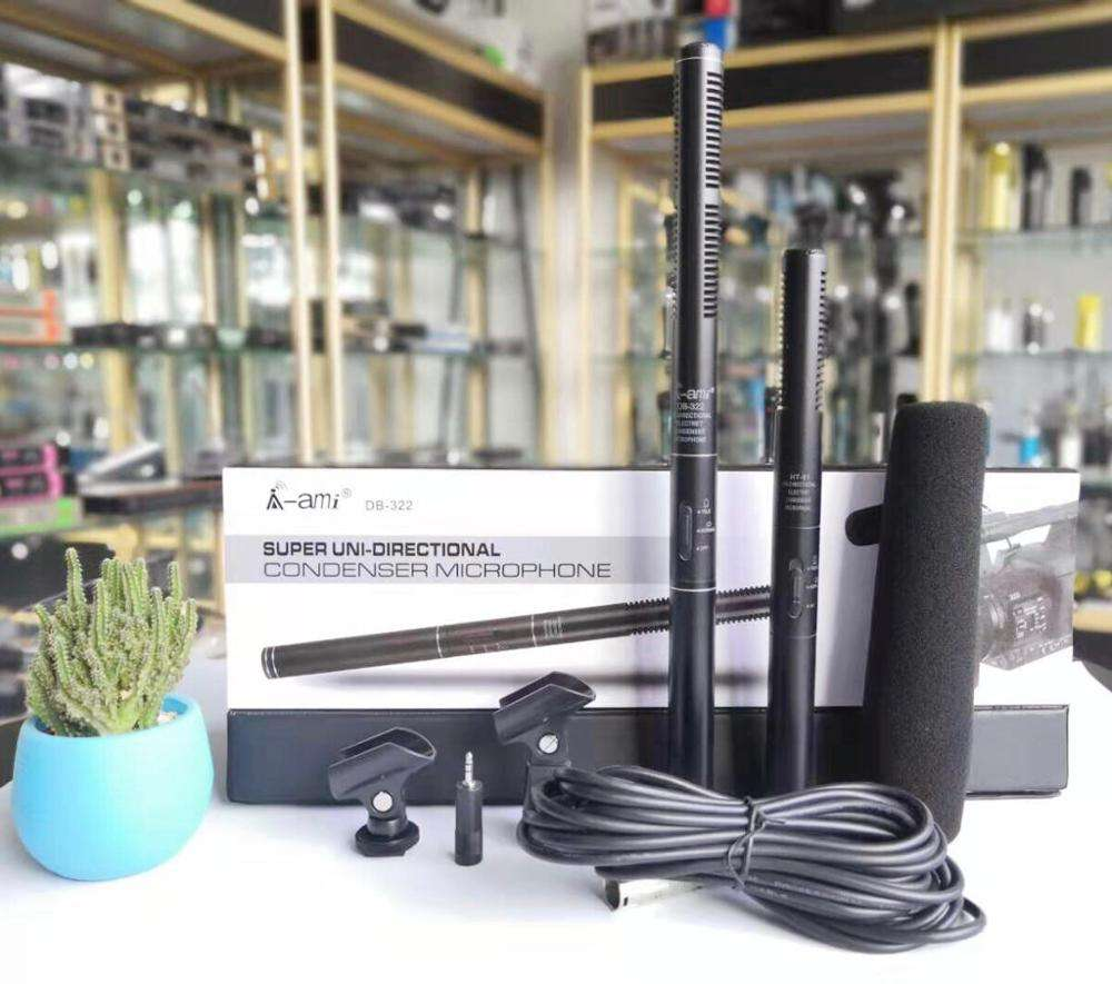 Professional Video Recording Handheld Interview Microphone for Camera and Phone