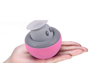 business christmas gift supply mini mushroom speaker mini mushroom sucker bt wireless speaker