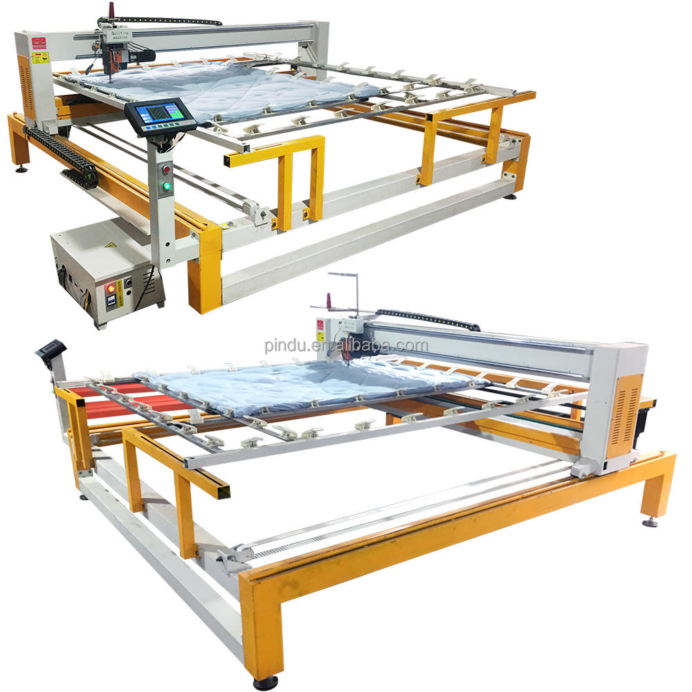 Long arm single needle quilting machine computerized mattress comforter duvet making quilting sewing machine price