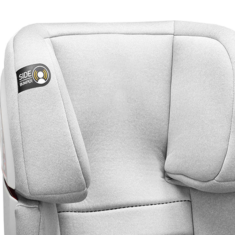 Head Heart Protection Comfortable Safety Baby Car Seat With Side Bumper