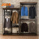 men's clothing shop wall displays shelving fixtures wholesale
