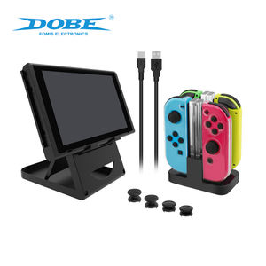DOBE Factory Original Game Pack Kit Charging Dock Folding Stand TPU Case Charge Cable For Nintendo Switch Console Accessories
