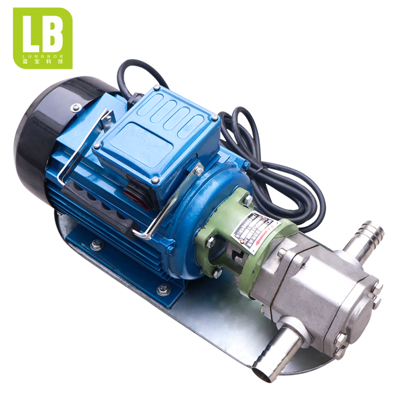 Hydraulic electric transfer pump,WCB stainless steel gear transfer pump
