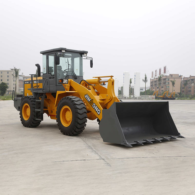 Factory supply various Size towing 11t wheel loader digging machine