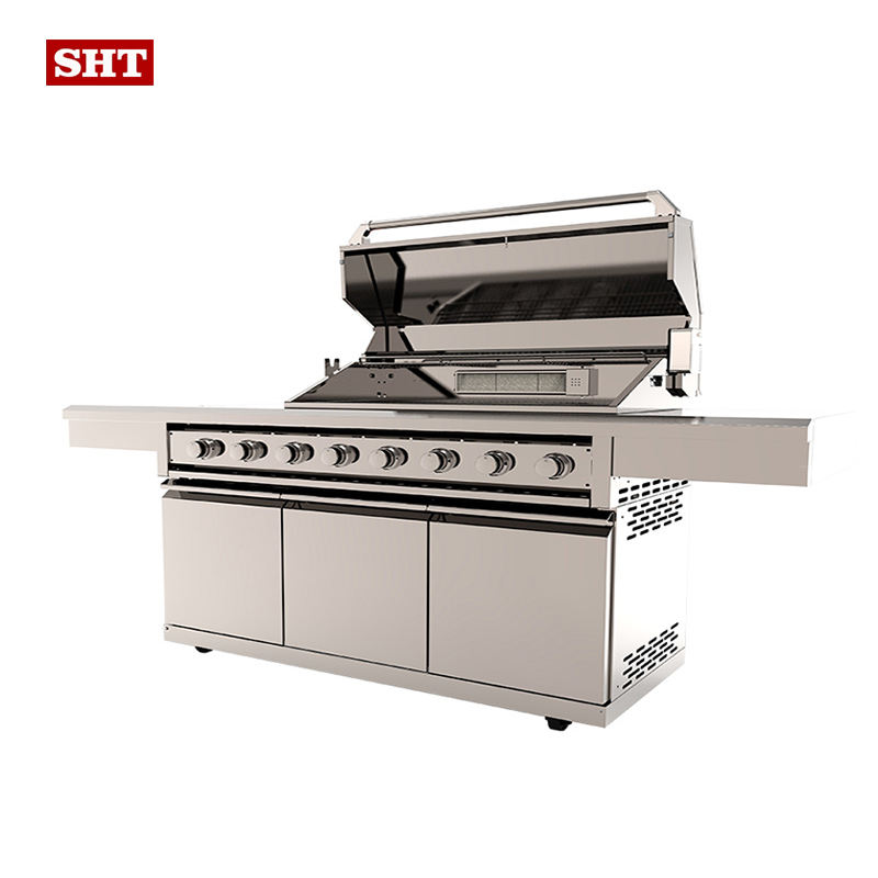 china supplie bbq for home use 8 Burner Gas Grill
