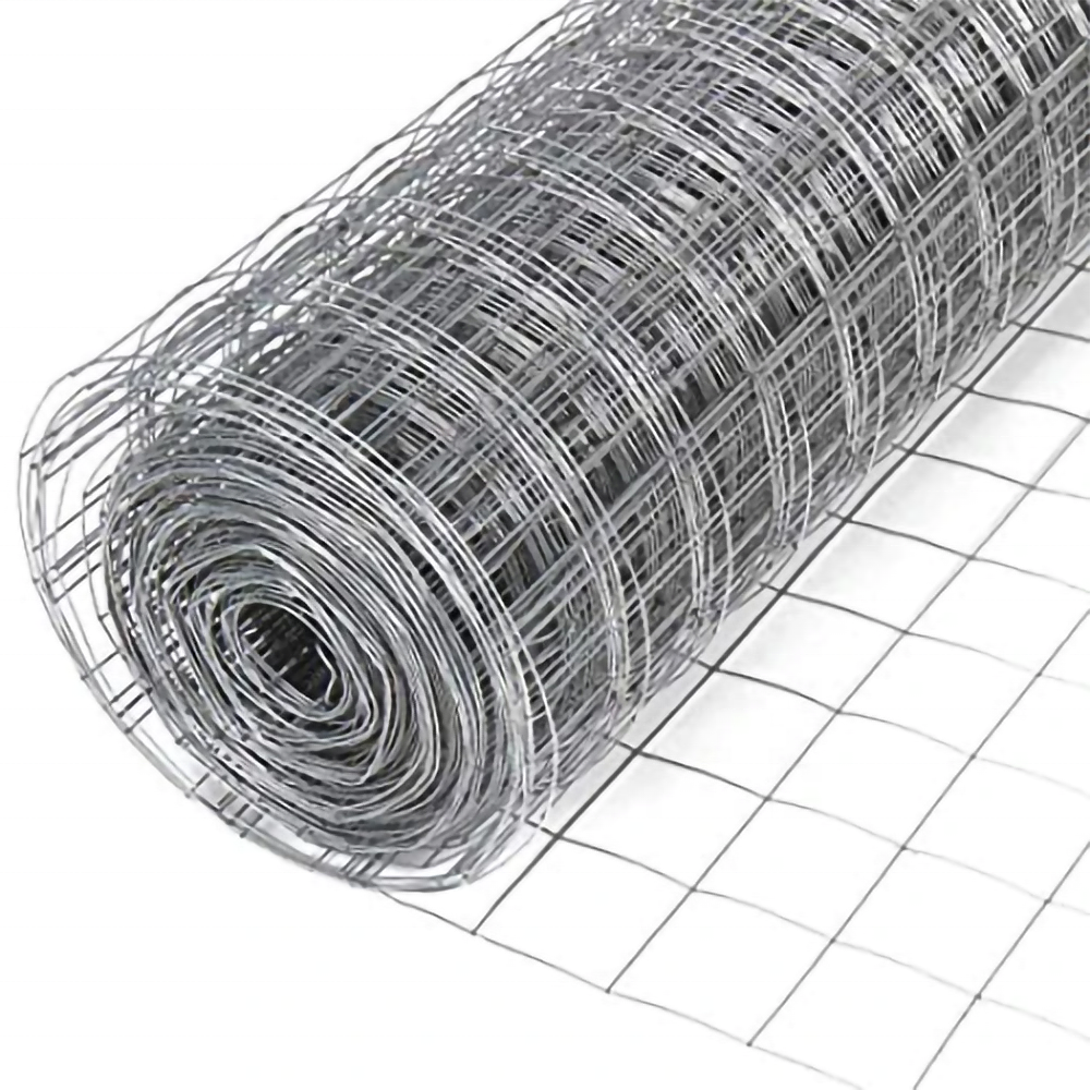 Factory price 8mm hot dipped galvanized welded iron wire mesh panels for sale