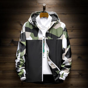 Wholesale Camo Jacket Men Summer Jackets With Hoodie