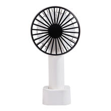 Battery Charging Cooling Table Standing Fan Plastic Handheld Rechargeable Portable Mini Usb Fan