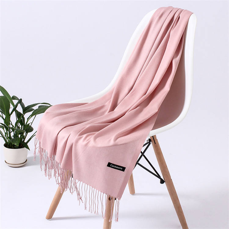 Wholesale fashion scarf pashmina cashmere women shawl custom