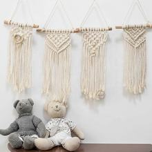small decoration handmade macrame wall hanging wall woven macrame kids room decor wholesale