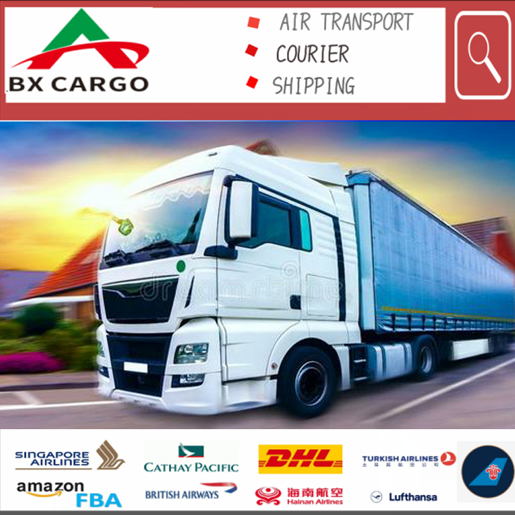 Cheapest Land shipping rates Transportation forwarding agent DDP from China to England truck cargo agent