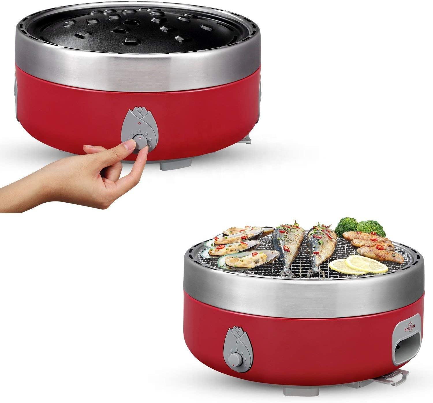 Portable Charcoal Barbecue Picnic Barbecue Garden Camping Party Beach Outdoor Barbecue