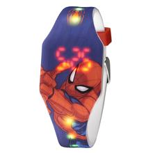 Spiderman Printed Design China Electronic Movement Silicone LED Sports Watch