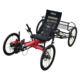 Road Bike TrikExplor 420 4 Wheels Touring Road Recumbent Quad Bike For Elderly