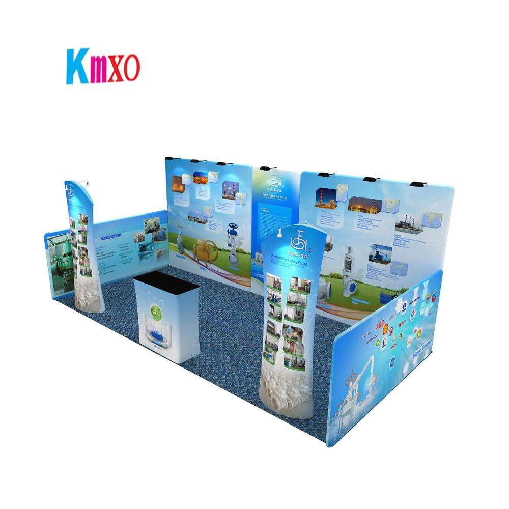 HIMSS 2020 Factory Produce Display Booth New Modular Design Exhibition Stall