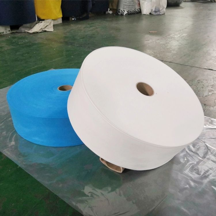 in-stock musk materials pp spunbond nonwoven fabric rolls ss sms smms spun-bonded polypropylene non woven fabric