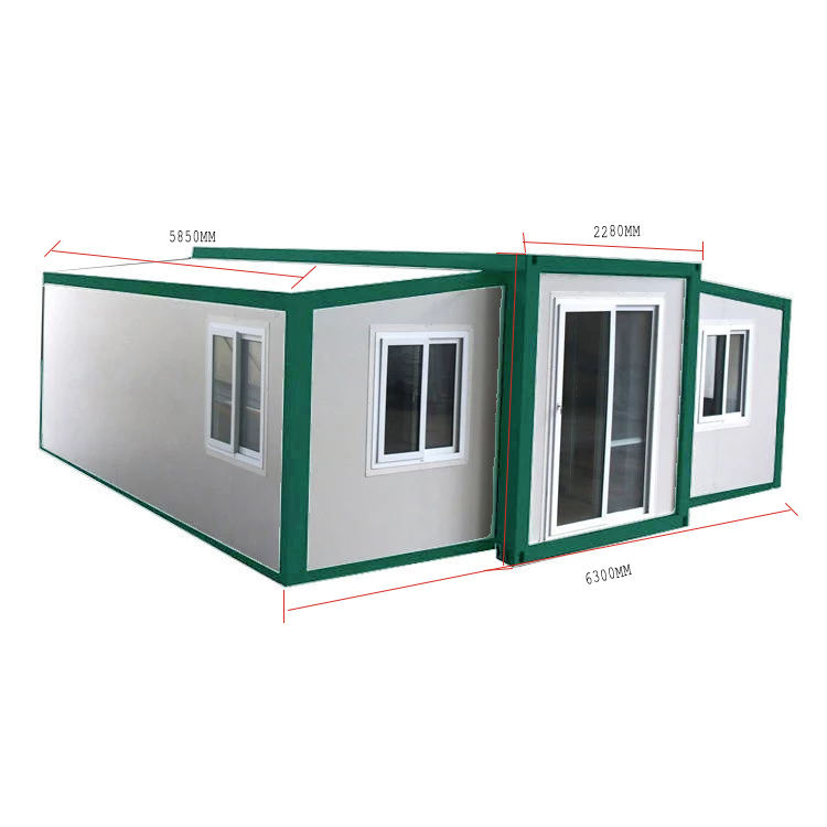Stretch-installed EPS insulation board house Simple-installed villa Easy home for transportation expend container house