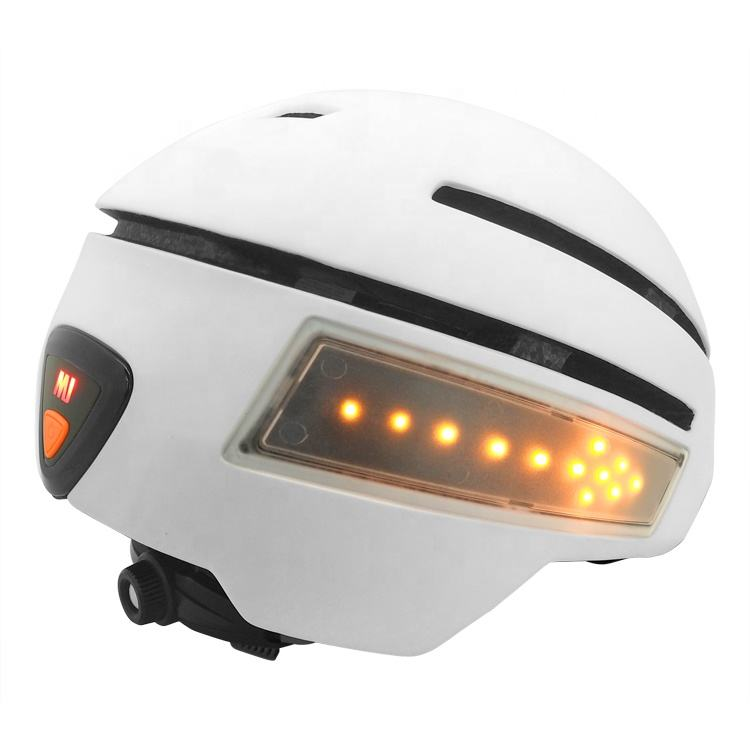 New bicycle helmet with built in lights for adults and teenagers