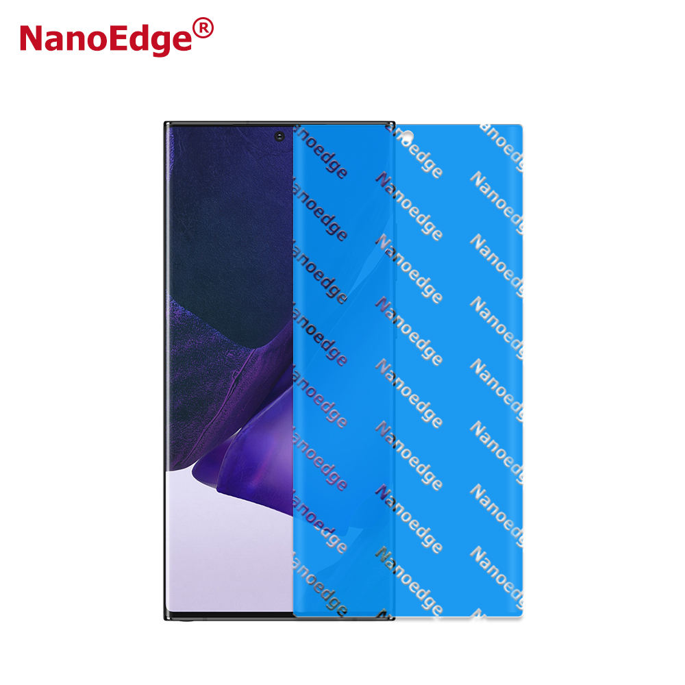 For Samsung Galaxy Note 20 Edge to Edge TPU Screen Protector, HD Clear Anti Scratch Screen Film