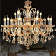 Decoration Chandelier Drop Chandelier Large Decoration Classic Wedding Pendant Light Crystal Chandelier Luxury For Hotel