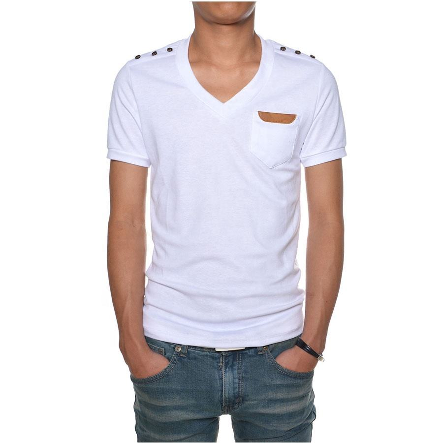 white fashion wear t shirt