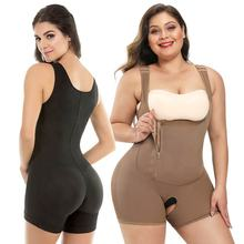 50% OFF Ready to Ship Shape Wear crotchless bodysuit Slimming Women full body shapers shapewear