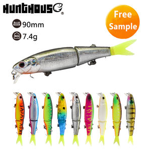 hard lure minnow sinking lure multi jointed fishing bait