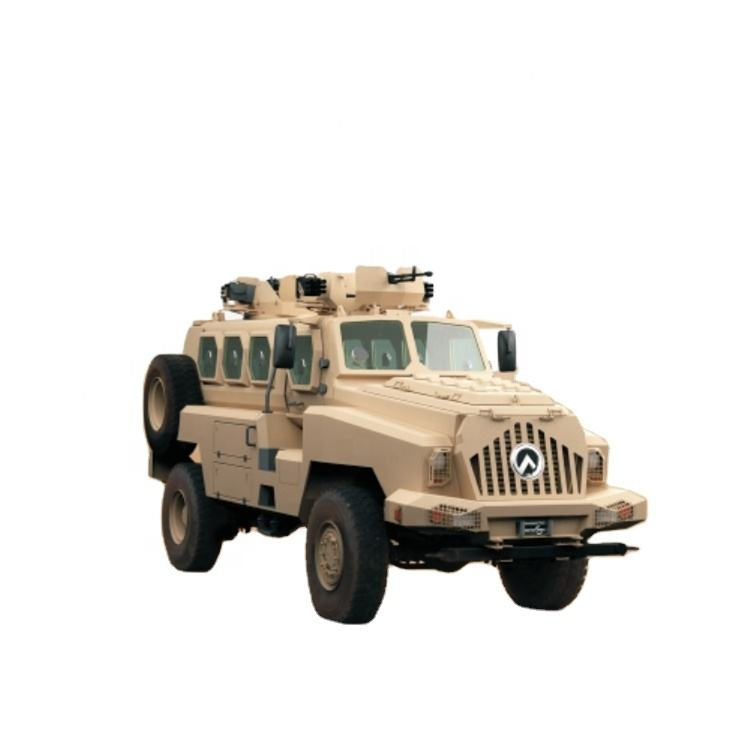 Armored Vehicle for Mine Resistant and Ambush Protected MRAP Vehicles