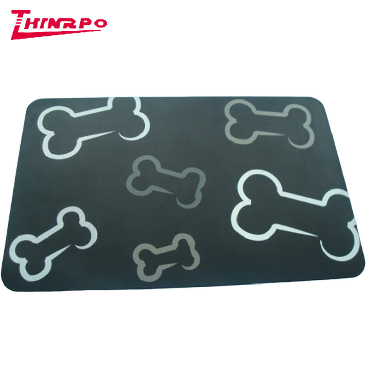 Factory Price Wholesale Silicone Pet Mat Silicone Feeding Mat Large Silicone Dog Cat Dog Food mat placemat