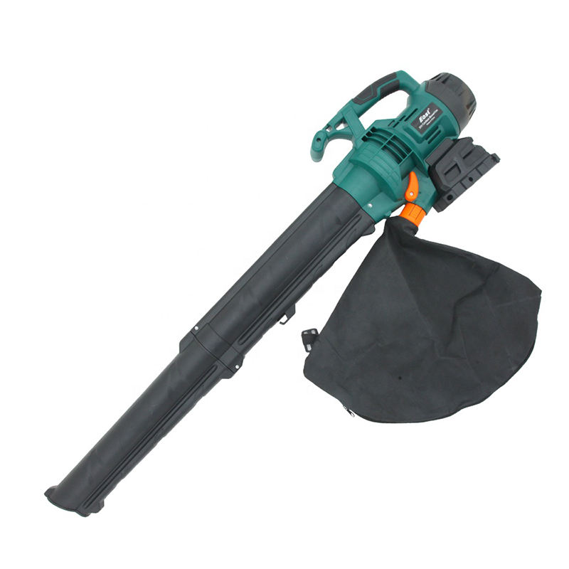 Cordless gardening leaf blower & vacuum high quality snow blower high capacity vacuum cleaner with dust bag