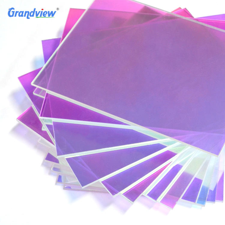 Hot sale furniture decoration iridescent acrylic sheet
