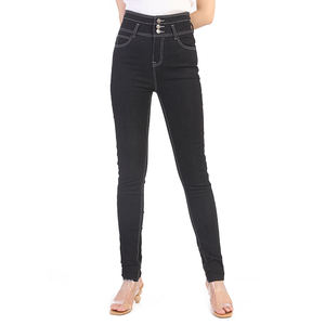 High Quality Customization Fast Delivery Brand New Sexy Popular Woman Denim Stretched Jeans