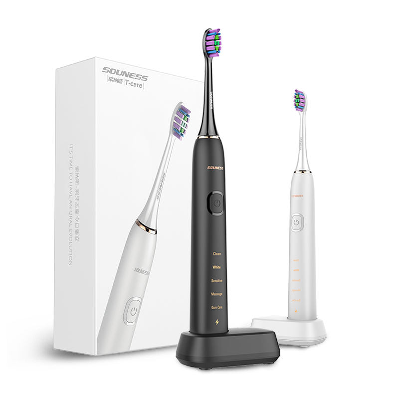 IPX7 Waterproof Electric Sonic Toothbrush New 2021 Product Wholesale Power Battery Packing Toothbrush