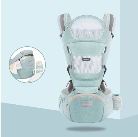 Dropshipping new born Baby Carrier Infant Kids Backpack Hipseat Sling Front Facing Kangaroo Baby Wrap for Baby 0-36 month